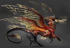 Dragon by Darenrin.deviantart.com on @DeviantArt