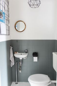 Discover recipes, home ideas, style inspiration and other ideas to try. Office Interior Design, Office Interiors, White Stairs, Bathroom Toilets, Bathroom Inspo, Industrial Interiors, Home Reno, Sweet Home, New Homes