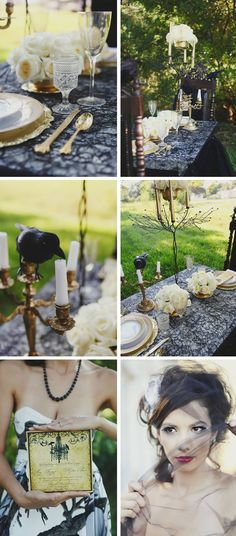 Gothic Style Weddings | Happy Halloween: Gothic Style Shoot - WeddingWire: The Blog ...