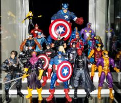 Captain America Friends and Foes - Prodigeek's Action Figure Collection