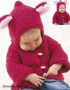 Spotlight Free Knitting Patterns Babies : Cabled Baby Aviator Hat Knitting Pattern pdf DAYTON Instant Download Knitti...