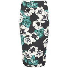 The Fifth Women's Sleepwalker Midi Skirt - Dark Jungle: Image 1