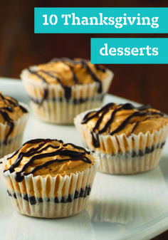 10 Thanksgiving Desserts – You've wowed the crowd with turkey and all of the trimmings, so the bar is set high when it comes to Thanksgiving dessert! No worries—we've got Thanksgiving dessert recipes, including all of the classics like pumpkin pie!