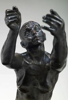 Camille Claudel L'implorante (Petit modèle) ou l'imploration ou la suppliante , 1899 Bronze avec patine brune