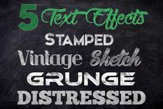 Chalk Text Effect Bundle By Lucion Creative