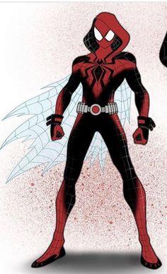 Spider Deku Into The Spiderverse Marvel Art, Marvel Dc Comics, Marvel Heroes, Marvel Characters, Spiderman Suits, Spiderman Spider, Amazing Spiderman, Next Avengers, Marvel Avengers