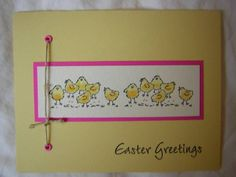 Every bunny by tinawhite cards and paper crafts at used stampin up spring gifts negle Images