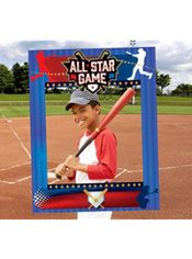 Giant Baseball Photo Booth Frame #PartyWithMLB