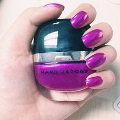 """Marc Jacobs Enamored Hi-Shine Nail Lacquer in Oui. Thanks for sharing, @vivatregina!  #marcjacobs #oui #nailpolish #notd #marcjacobsbeauty"" Instagram @camillesantiago Thanks For Sharing, Nail Arts, My Nails, Marc Jacobs, Nail Polish, Instagram Posts, Beauty, Beleza, Nail Art Tips"