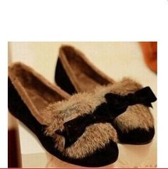 Shoes Woman Sapatilha 2015 Sale Tenis Feminino Shoes Women The Korean Version Of Round headed Real Rabbit Cashmere S Women's -in Women's Flats from Shoes on Aliexpress.com | Alibaba Group