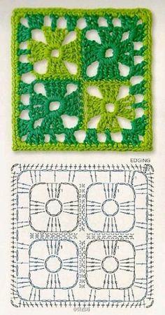 Best 12 How to Crochet a Solid Granny Square – Crochet Ideas – Page 129337820533840622 – SkillOfKing. Motifs Granny Square, Granny Square Crochet Pattern, Crochet Blocks, Crochet Diagram, Crochet Chart, Crochet Squares, Crochet Granny, Crochet Motif, Crochet Designs