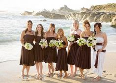 Cute Top Fall Wedding Color Combinations u Bridesmaid Dresses Trends Yellow belt Lace bridesmaids and Dark brown
