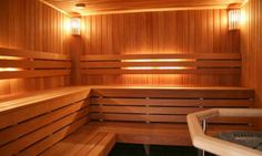 Saunas in Thunder Bay Hot Tub Service, Indoor Sauna, Detoxify Your Body, Basement Remodeling, Outdoor Furniture, Outdoor Decor, Building A House, Layout, Saunas