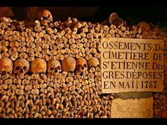 Mystery footage found in Paris catacomb