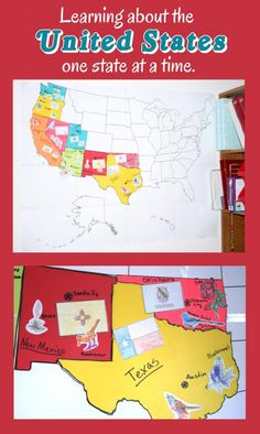 Creative Homeschool: Learning about the Unites States one state at a time.
