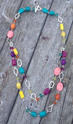 True Colors necklace - has a removable strand that can be a small necklace or bracelet!
