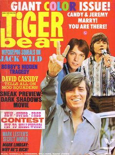 Tiger Beat - August, 1970