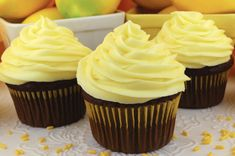 The Best Lemon Cream Cheese Frosting is tart and creamy and chock full of yummy Cream Cheese flavor - a great lemony twist on a classic frosting recipe. This Lemon Frosting is both delicious and easy to make. Pin this great Frosting idea for later and follow us for more great Frosting Recipes! #CreamCheeseFrosting #BestFrosting #BestCreamCheeseFrosting #Buttercream #CreamCheese #Lemon #Frosting