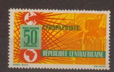 Central African Empire 1964 74 Europafrique Telecommunications Stamps MNH M African Empires, Stamp, Stamps