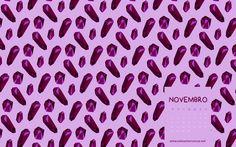 Papéis de Parede de Novembro (2016) Amavelmente Irônica