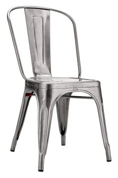 Looking for a unique chair option? Try the Gunmetal café chair. Great for the those brides looking to add a little urban chic to their wedding. Rented from @Lakes Area Rental