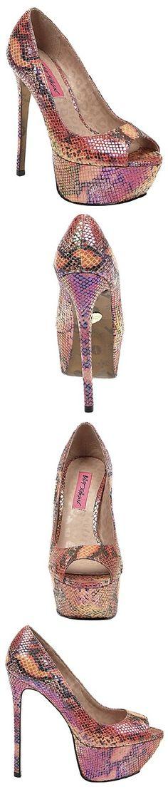 BRIDGITT ORANGE MULTI COLOR Design works No.1812   Fashion design shoes