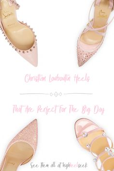 2dbd8a3c14c Pink Christian Louboutin Pumps for Spring   Summer Weddings