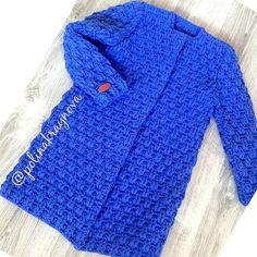 Filet Crochet, Crochet Stitches, Knit Crochet, Baby Knitting Patterns, Free Knitting, Crochet Patterns, Dress With Cardigan, Knit Cardigan, Crochet Jacket