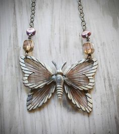 flutter. adjustable vintage brass butterfly by valbdesigns on Etsy, $59.00