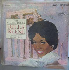 Della Reese The Classic Della Reese Vintage Record Album Vinyl LP Classic Music American Singing Star Tchaikovsky Chopin
