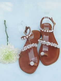 The most romantic, beautiful and comfortable wedding shoes. Perfect for beach wedding or any other wedding or bridesmaids. You'll definately wear them over and over again. Most Romantic, Palm Beach Sandals, Wedding Shoes, Leather Sandals, Bridesmaids, Kids, Beautiful, Bhs Wedding Shoes, Young Children