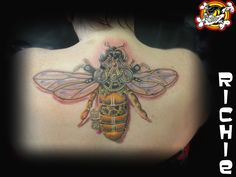 Have you heard the buzz about Richie? His tattoos are awesome, like this one for example!