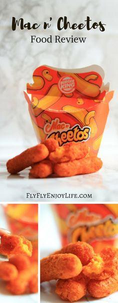 Burger King Mac n' Cheetos. Junk Food Review