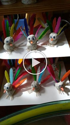 In this DIY tutorial, we will show you how to make Christmas decorations for your home. The video consists of 23 Christmas craft ideas. Clay Crafts For Kids, Diy For Kids, Diy And Crafts, Arts And Crafts, Bird Theme, Classroom Crafts, Animal Crafts, Clay Projects, Creative Kids