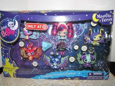 Littlest Pet Shop Moonlite Fairies With Blythe Doll and 5 Twinkling Pets NEW #Hasbro