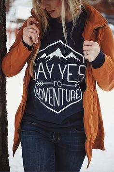 Adventure Sweater - Love this brand that's helping to end sex trafficking!