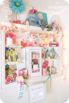 Patisserie 12 from A Fanciful Twist.  Inspiration for displays,  magical for grandchildren.