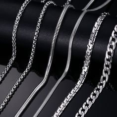 【 $2.50 & Free Shipping / Coupons 】Fashion Silver Gold Plated Chain Necklace For Men Stainless Steel Snake Chain Customized Jewelry | worth buying on AliExpress http://www.thesterlingsilver.com/product/love-necklace-coin-1191-pendant-with-chain-in-925-ste