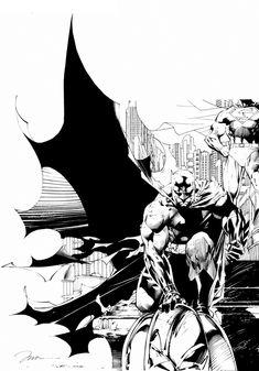 Batman   Jim Lee   #BATMAN