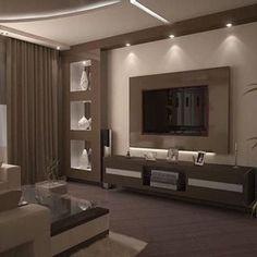 modern interior wall niches design home wall decor Niche Design, Tv Wall Design, House Design, Ceiling Design, Glass Design, Floor Design, New Living Room, Interior Design Living Room, Living Room Decor