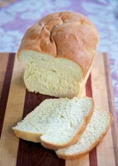 Amish White Bread - so delicious & ready in about 2 hours!