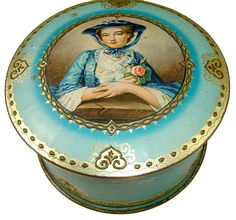McVitie and Price biscuit tin   1938