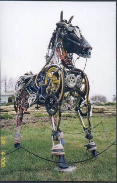 Cycle horse