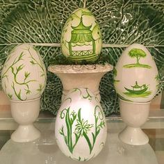 The Inspired Nest ( Hoppy Easter, Easter Eggs, Chinoiserie Chic, French Country Style, Memorial Day, Diy Crafts, Photo And Video, Nest, Holiday Decor