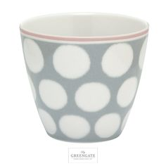 Greengate latte cup Aura grey SS16