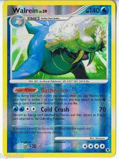 Pokemon Card Rising Rivals Reverse Holo Rare Walrein 36/111 FREE Combined S