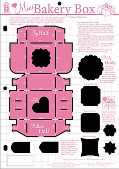 This is just the cutest template for tiny gifts and treasures