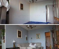 Obnova farby na stenu v obývačke paneláku Cabinet, Storage, Furniture, Home Decor, Clothes Stand, Purse Storage, Decoration Home, Room Decor, Closet