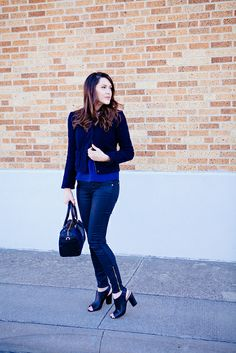 A Gap jacket as featured on the blog @Kendi Sparks Everyday.