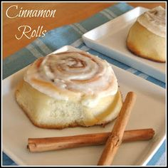 Gourmet Cooking For Two: Cinnamon Rolls....I'd have to triple the recipe for my family but it looks good!